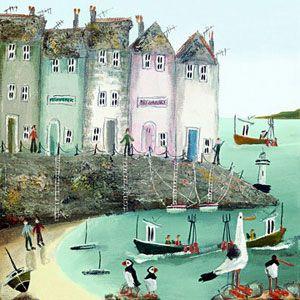 Dorset's very own Rebecca Lardner one of the UK's most popular artists and my friend. rebeccalardner.com