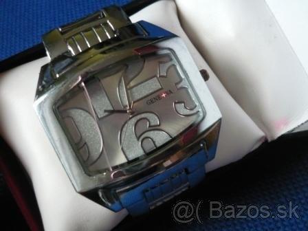 Geneva luxusné hodinky – unisex za 15€
