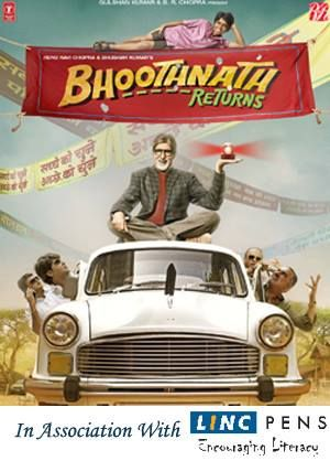 Have a breath of fresh air in this intense season of politics. Catch Amitabh Bachchan and Linc Pens fight against corruption in Bhoothnath Returns, releasing today at a theater near you..  Don't miss the action!!