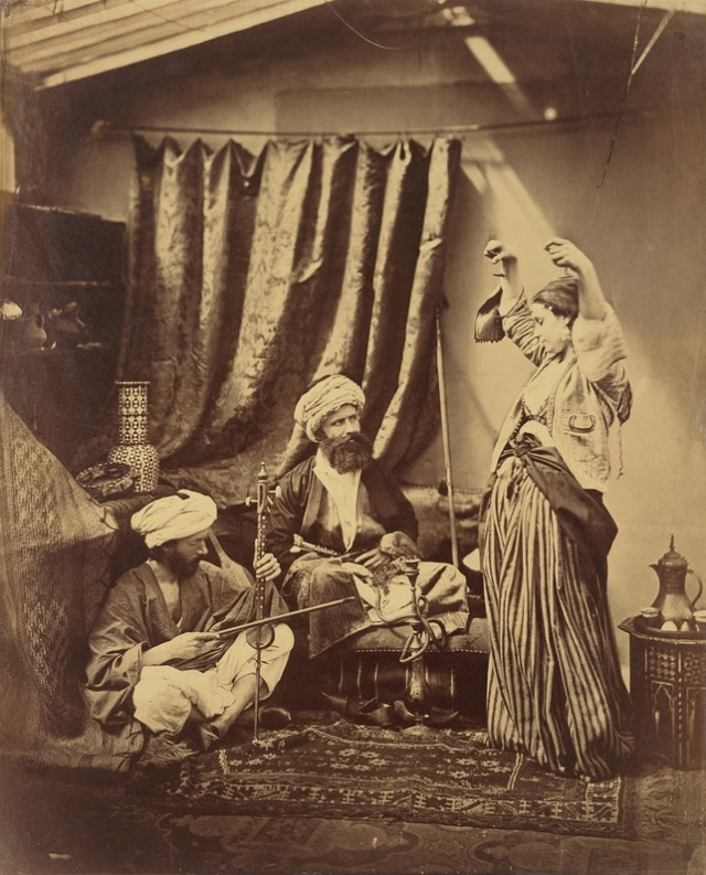 Roger Fenton (British) Pasha and Bayadere 1878