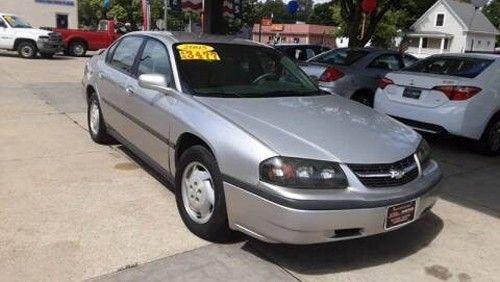 05 Chevy Impala For Sale Cedar Rapids Ia 52404 Under 4000 Silver