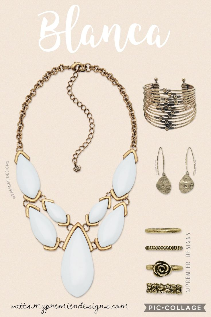 Premier designs jewelry 2015 - Premier Designs Blanca Necklace Love It Check Out This And More At