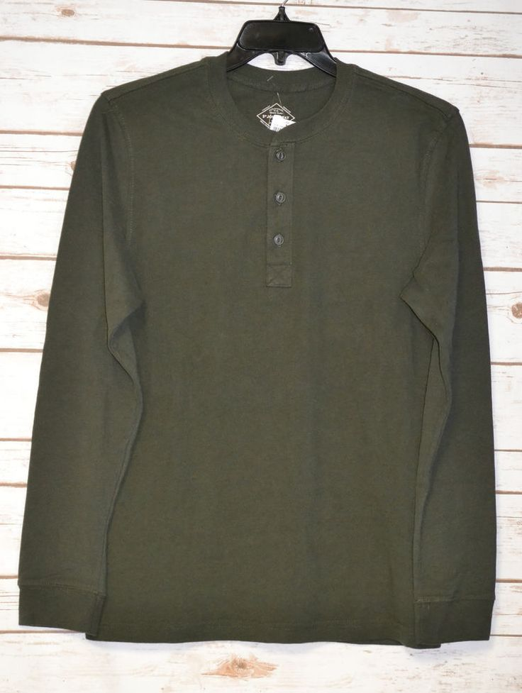 16 best mens henley shirts images on pinterest casual for Best henley long sleeve shirts