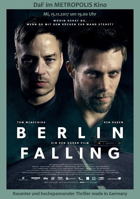 BERLIN FALLING am 15.11.2017 bei #DaF im #METROPOLIS #Kino #Hamburg