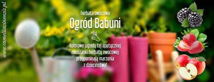 wspaniała herbata owocowa ogród babuni