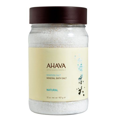 Ahava Bath Salt, Natural, 32 Ounce by AHAVA. $17.19. Allergy tested. Rich in health-enabling minerals, these natural crystals relax tight muscle and joints. Paraben free. These skin-energizing Dead Sea salt crystals are 100% natural and packed with healthy minerals. When emerged into the bath, muscles and joints are relaxed and skin feels soft, smooth and refreshingly hydrated. Save 22% Off!