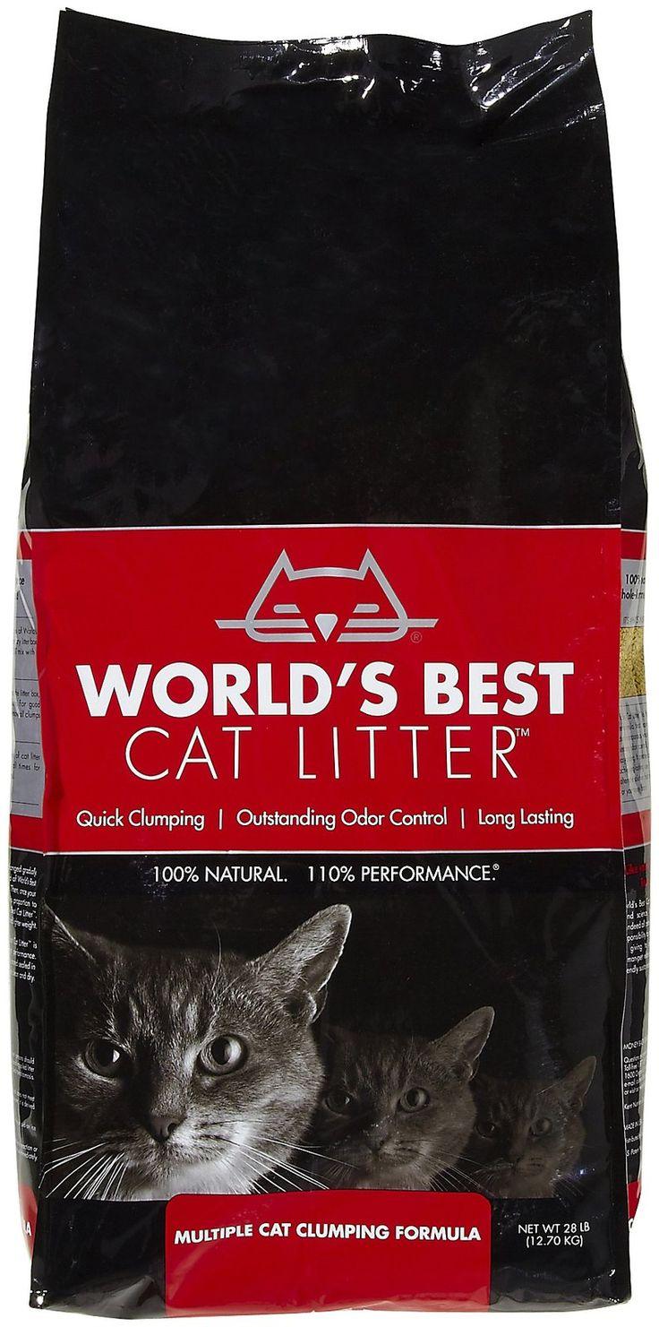 World's Best Cat Litter MultiCat Clumping Formula