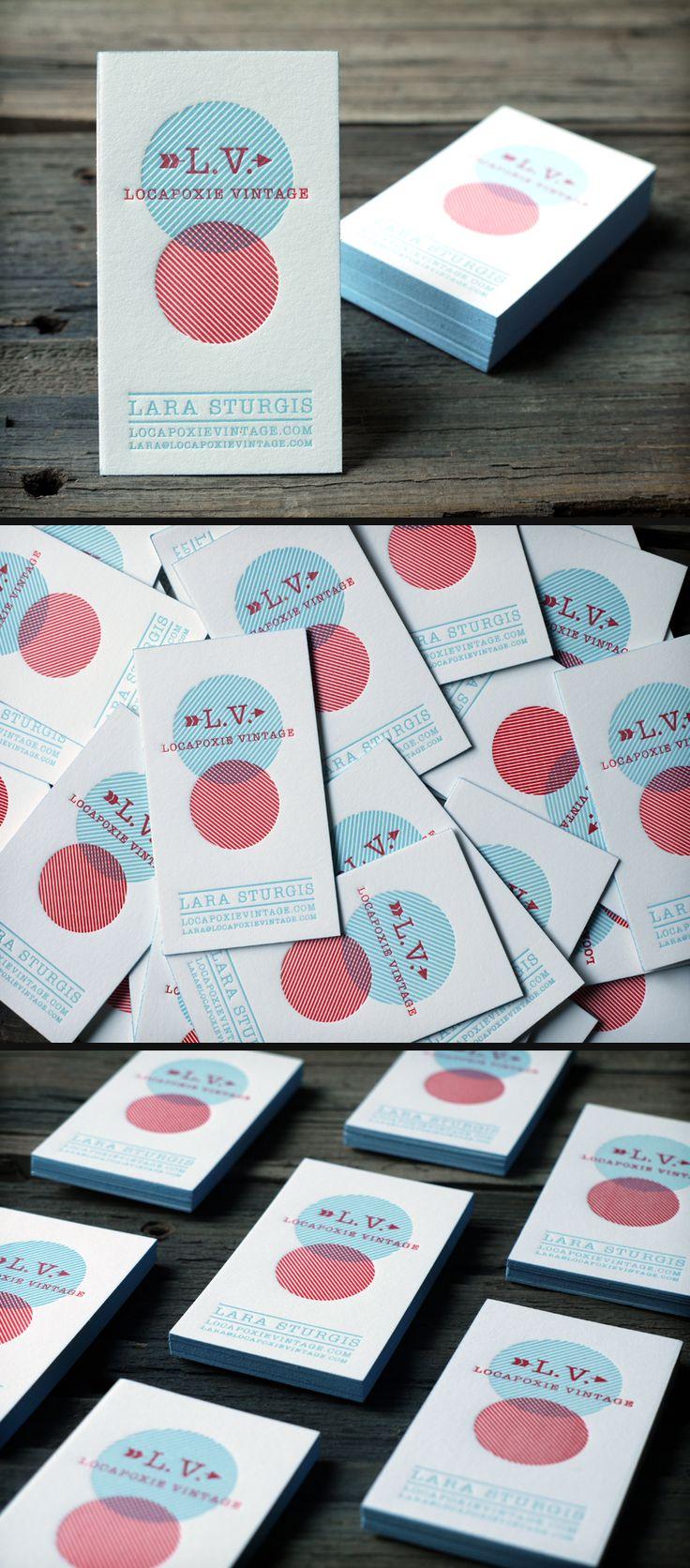 Mais de 30 Inspirações em Cartões de Visitas-Des1gn ON - Blog de Design e Inspiração. #businesscard #typography