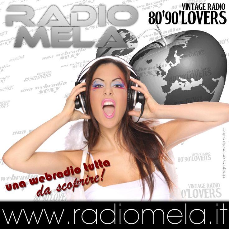 Radio Mela - 80 90 Lovers - Vintage Dance una WebRadio tutta da scoprire!  www.radiomela.it  #vintageradio #8090lovers #radiomela