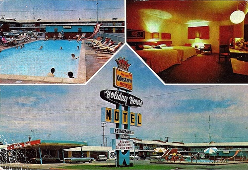 Holiday House Motel, Elk City, OK - circa 1960s