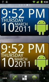 Android based Digital Clock Widget show like a desktop or   laptop digital clock widget . Android   users make their time and date like  home screen used by the application .This clock gadget makes a 3d quality flavor  when you watch  on the android screen. Some droid apps create a few special  tools for more glorious outlook  display on that android screen and fix  a date and time for you in a simple way.