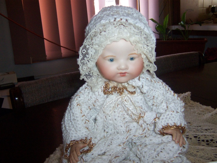 Dream baby ( porcelain reproduction)