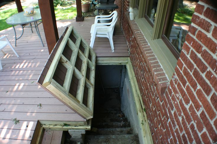 17 Best Images About Trap Door On Deck For Basement Access