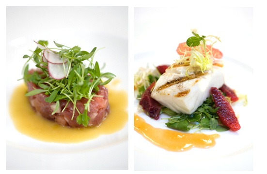 dish by Chef/Owner David Hart, Desmonds Restaurant, New York City, Photography by Diana DeLucia
