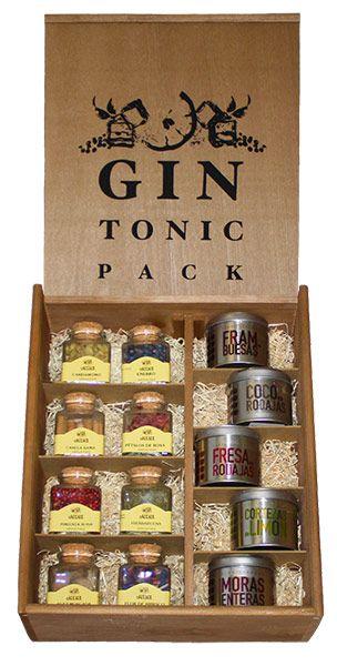 Kit Botánicos Gin Tonic