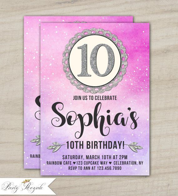 Pin On Party Invitations