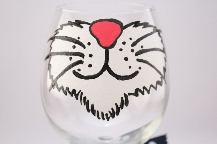 Cat wine glass, crazy cat lady, hand painted wine glass, cat lover glass, i love cats, kitty wine, fun wine glass, funny glass by aGlassWithSass on Etsy https://www.etsy.com/listing/221220329/cat-wine-glass-crazy-cat-lady-hand