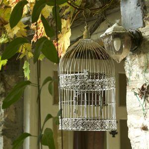 Cage oiseaux decoclico 46 90 pour la chambre for Cages a oiseaux decoratives