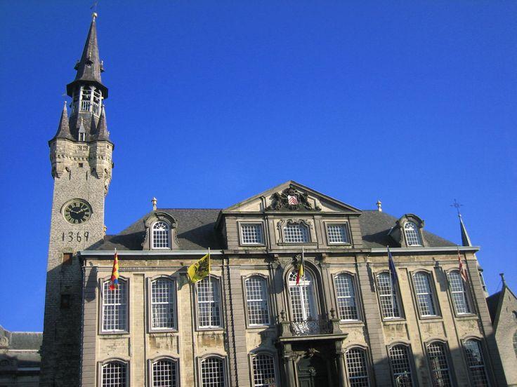 Town Hall and Belfry, Lier, Flanders Region, Belgium