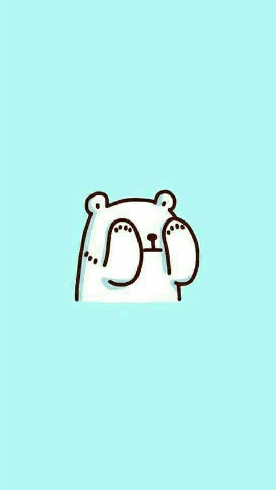 Polar bear wallpaper background tumblr cute funny