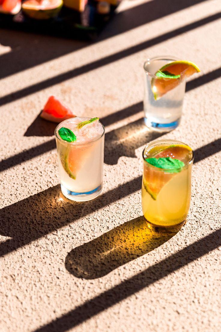 Pomelo Gin Fizz Citrus Cocktail