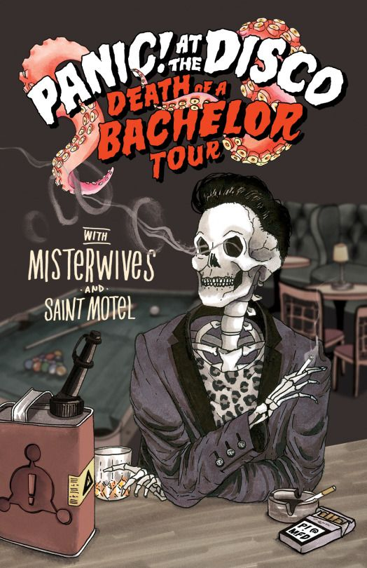 Can I go pls // panic! at the disco death of a bachelor tour