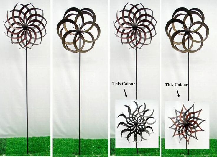 Metal Wind Spinner