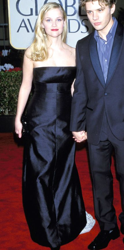 The First Time the 2015 Golden Globes Nominees Hit the Red Carpet - Reese Witherspoon, 2000 from #InStyle