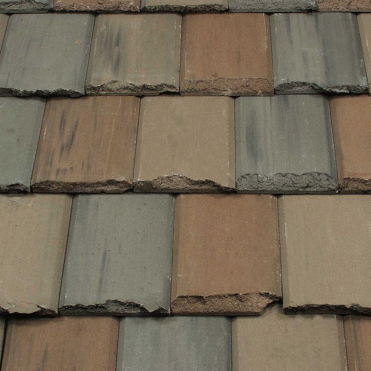 Flach-Dachziegel / aus Beton / Struktur / schwarz PORTOBELLO  ENTEGRA ROOF TILE