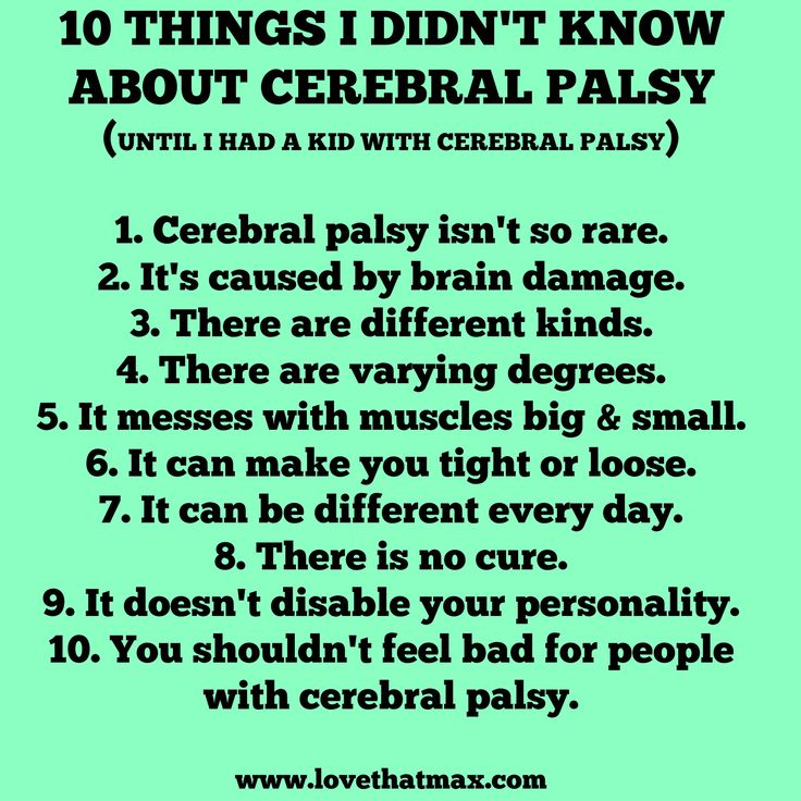A post in honor of National Cerebral Palsy Awareness Day 2014. Because the more people understand what cerebral palsy is, the better for our kids.