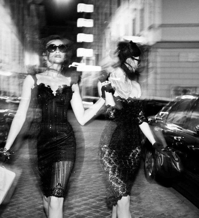 BW Fashion Photography by Szymon Brodziak Walk into the club like