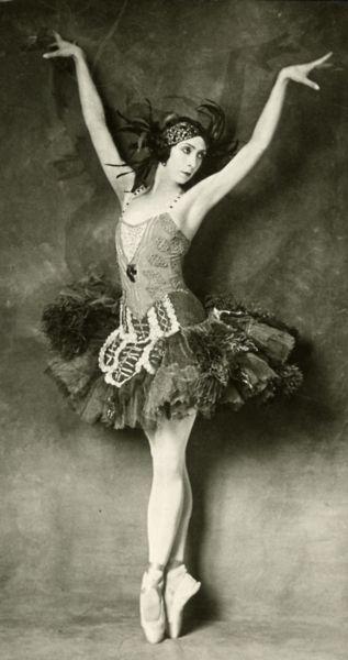 1920's ballerina.