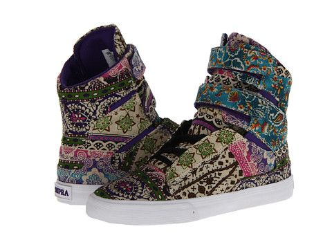Supra Society Multi/White - 6pm.com....I LOVE these!