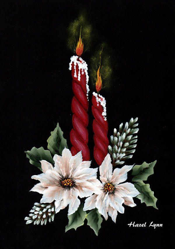 Red Candles. Hazel Lynn.