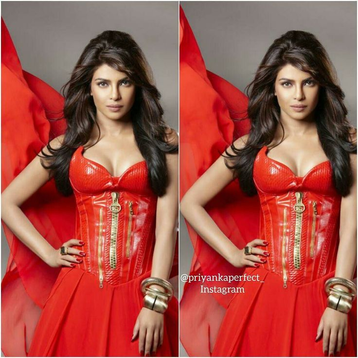 My Queen in red beautiful {#PriyankaChopra #QueenOfBollywood #BollywoodActress #PeeCee} by priyankaperfect_