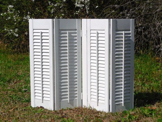 Crafts With Old Shutters