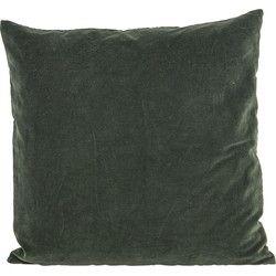 House Doctor - Kussenhoes Velvet Green - 50x50cm