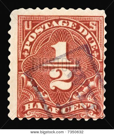 United States Postage Stamps 1925 Issued 1 2 Cent United States Postage Due Stamp Picture