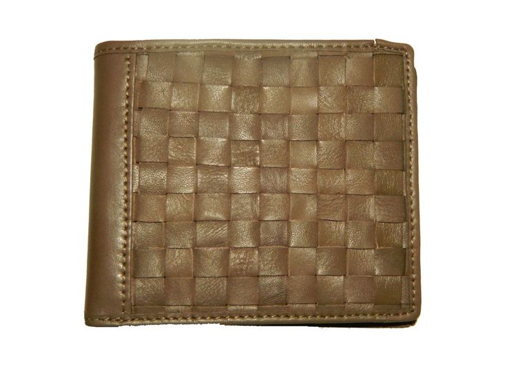 Leather Wallet For Men With Card Slots Color brown