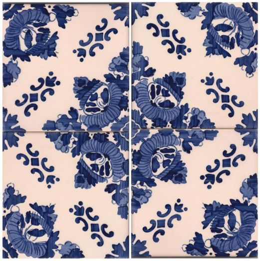 Galleries - A1-Portuguese tiles - 2000 Bonfim 4tiles 6x6