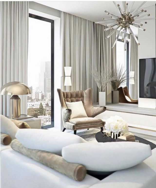 Modern Glam Living Room Decorating Ideas 19: Glam Living Room Decor, Glam Living