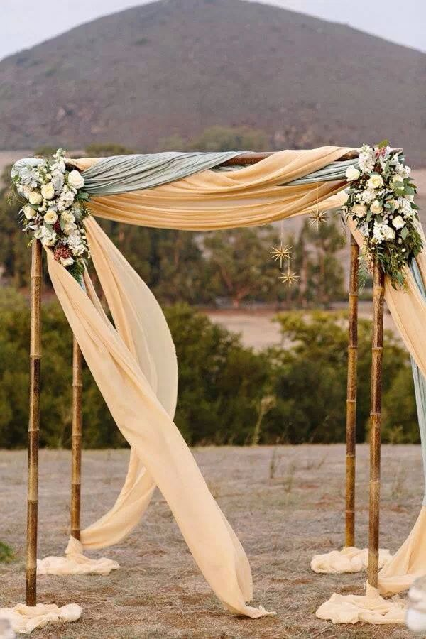 Ceremony arbor idea