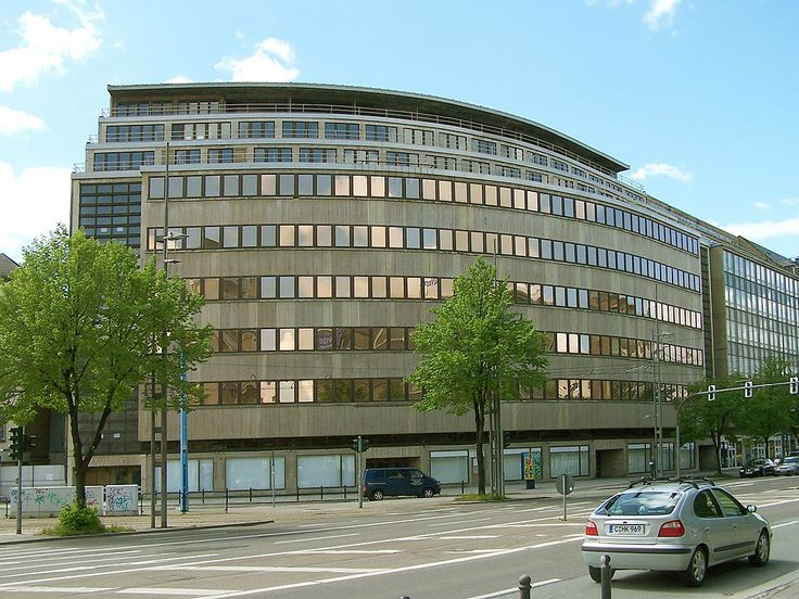 Kaufhaus Schocken in Chemnitz - International Style (architecture) - Wikipedia, the free encyclopedia