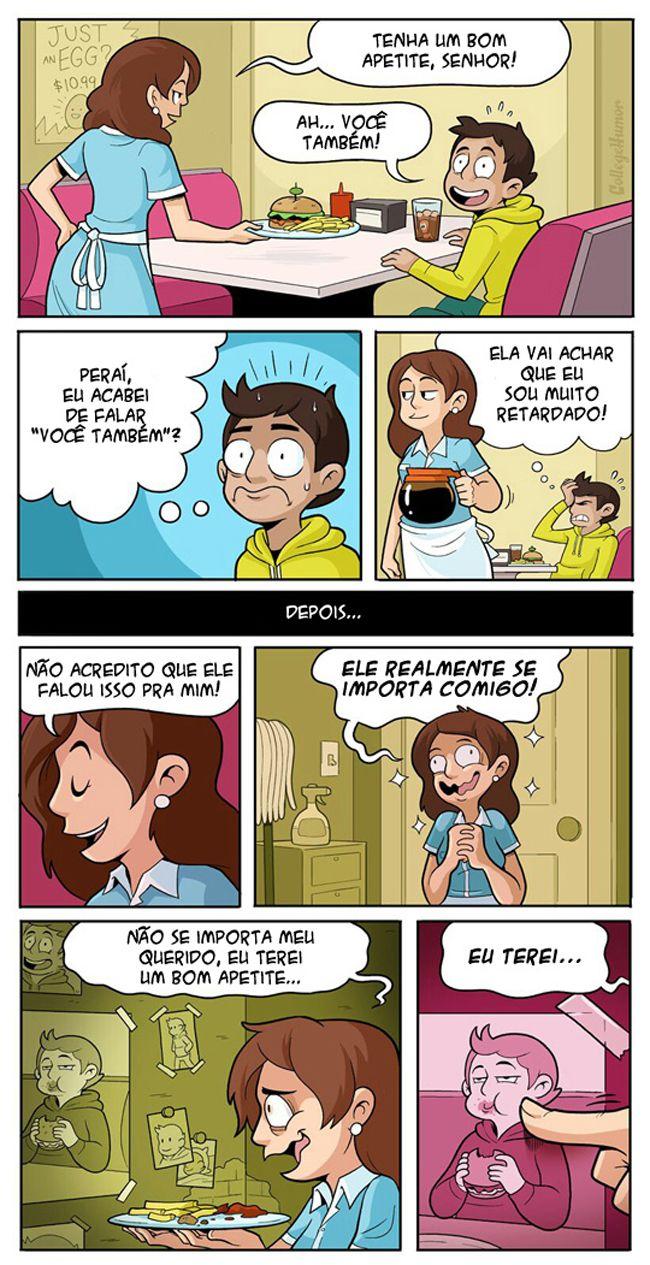 Satirinhas - Quadrinhos, tirinhas, curiosidades e muito mais! - Part 180