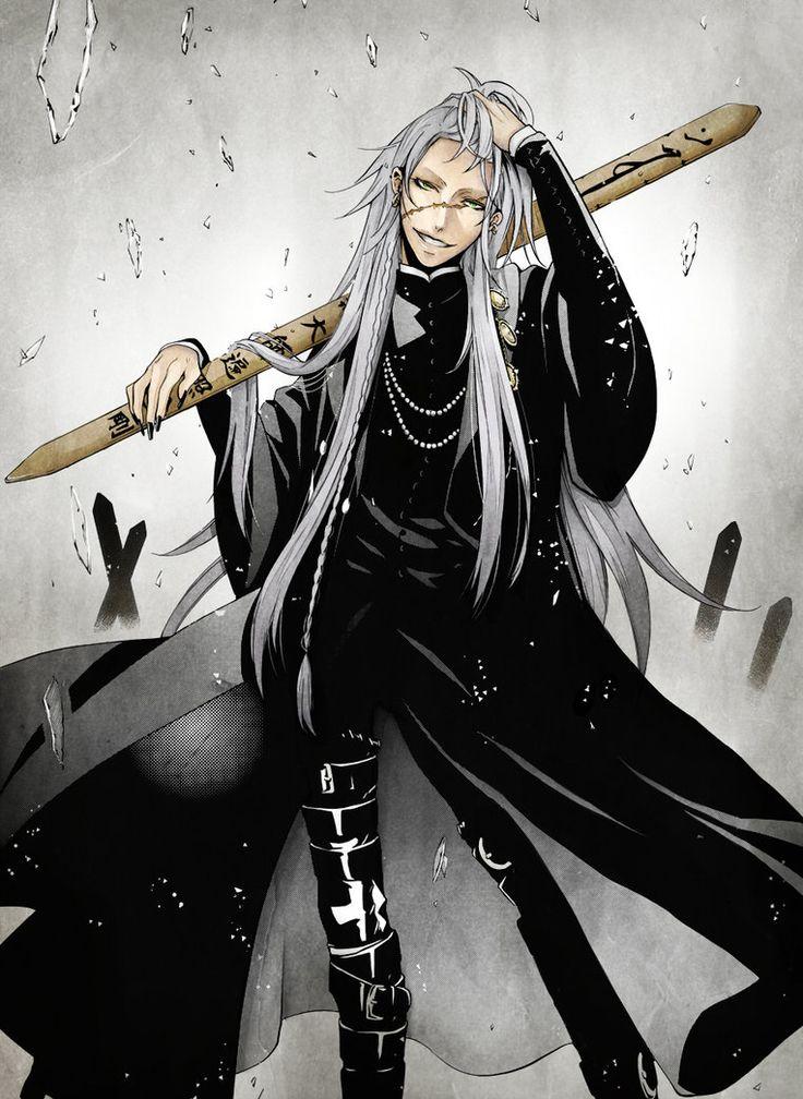 Black Butler Kuroshitsuji The Undertaker Anime Nerd Boys Kaneki Tokyo Ghoul Cartoons Ship Baby