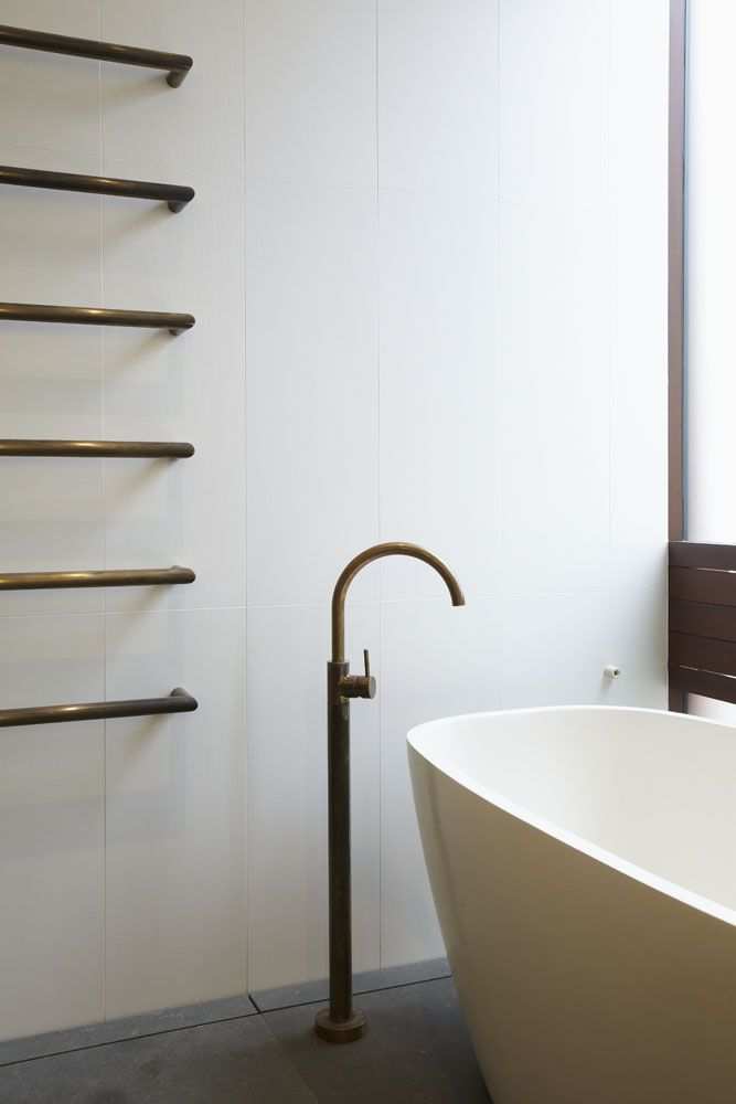 Astra Walker - Icon Aged Brass Bath Spout