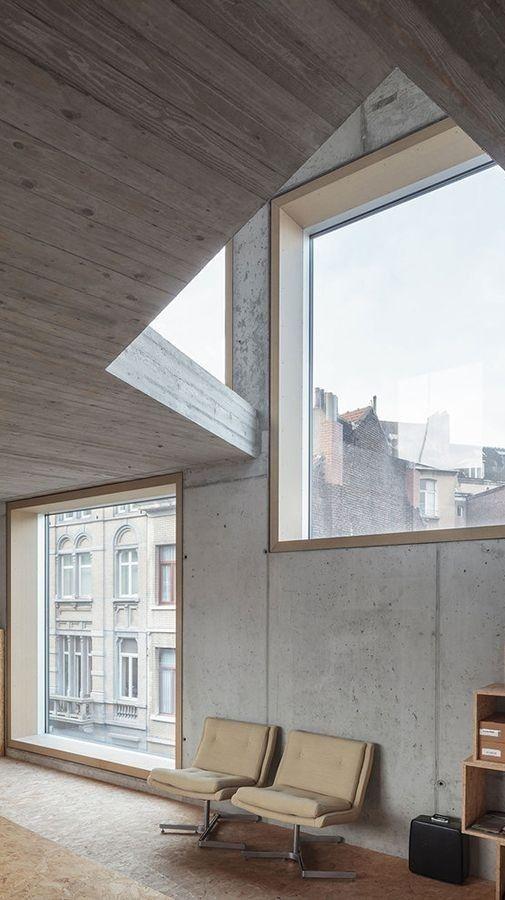 Exposed Concrete Interior | LOW Architecten