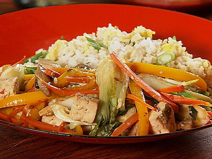 Best 25 recipes with tofu food network ideas on pinterest tofu stir fry with fried rice forumfinder Gallery