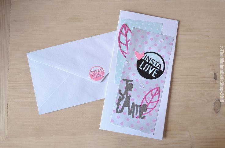 """Image of Carte de Saint-Valentin """"Je t'Aime"""" II"""