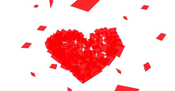 Poesía visual / Saldina / Cartas de Amor